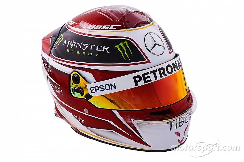 Veja os capacetes dos 20 pilotos da Fórmula 1 em 2019