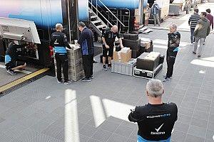 La Williams FW42 est arrivée à Barcelone
