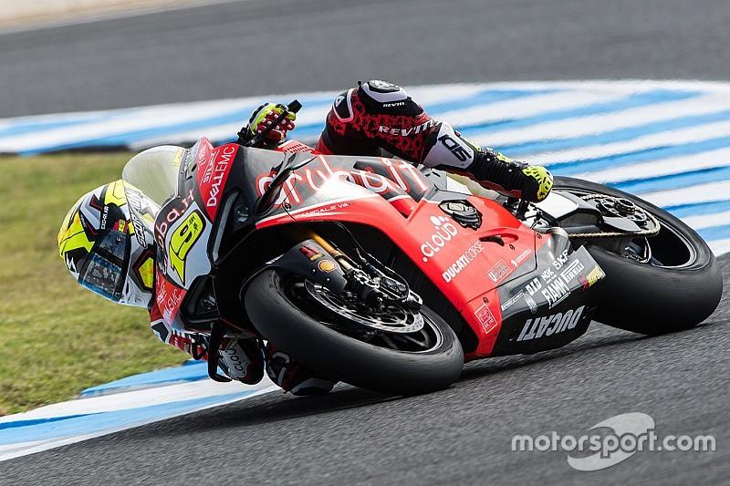 """Ducati, Bautista contento della V4: """"Giornata positiva. Ho fatto ottimi tempi nella simulazione gara!"""""""