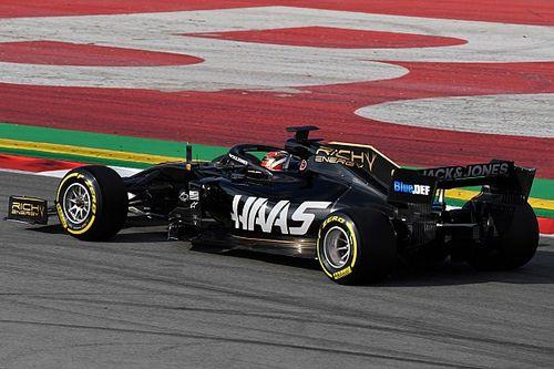 Fotogallery F1: la Haas F1 VF-19 nei test invernali 2019 svolti a Barcellona