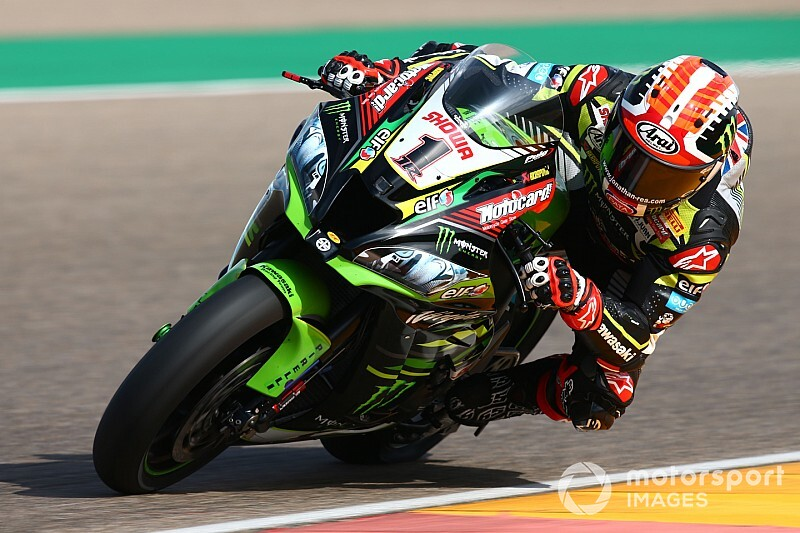 Test SBK Aragon, Day 1: Redding insegue Rea sotto la pioggia