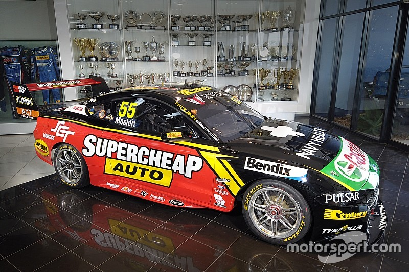 Mostert's Supercars Mustang livery tweaked