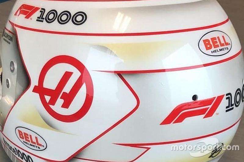 FOTOS: Grosjean usará capacete especial no GP 1000 da Fórmula 1