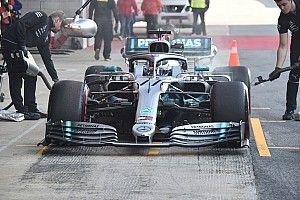 Mercedes: ecco perché hanno girato due W10 molto diverse in una sola settimana