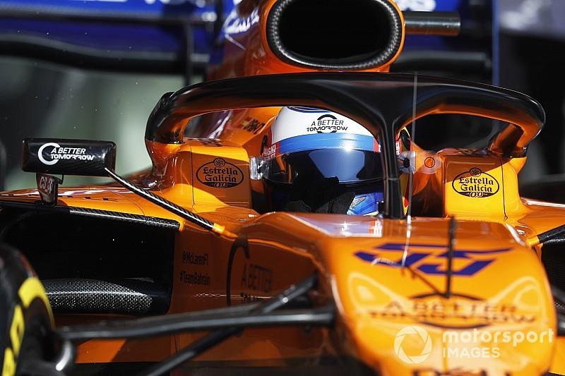 Sainz crava tempo mais veloz dos testes e lidera manhã da F1 na Espanha