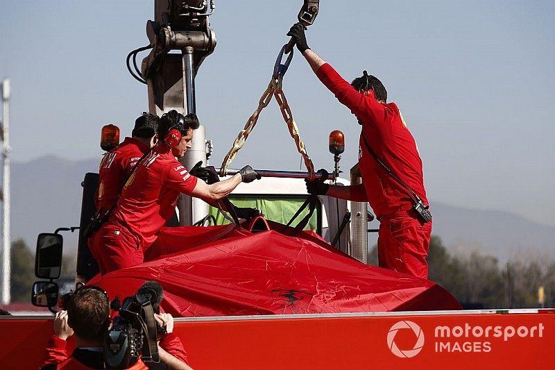 Ferrari cambia su programa de pruebas tras el choque de Vettel