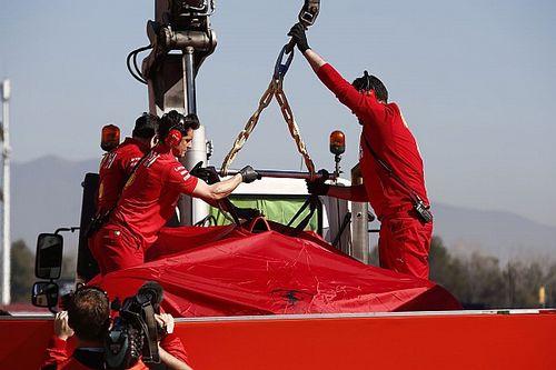 Ferrari muda programação dos testes depois de acidente de Vettel