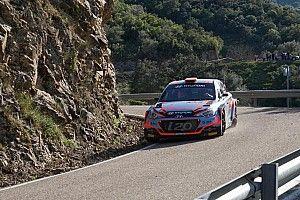 Iván Ares dio a Hyundai el liderato del Rally Sierra Morena en la primera jornada
