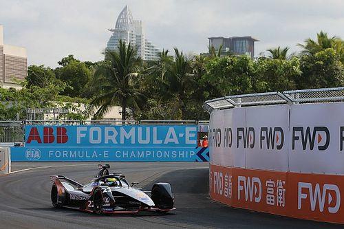 Sanya E-Prix: Rowland beats Vergne for maiden pole