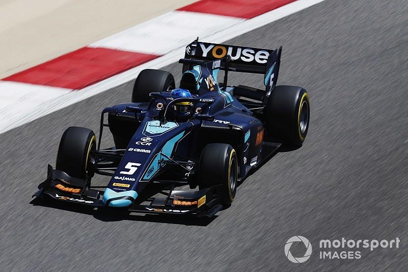 Sette Câmara lidera primeiro treino da Fórmula 2 no Bahrein