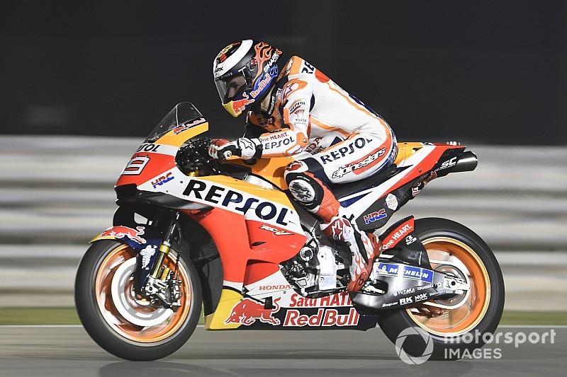 Lorenzo a Honda beállításaiig még nem jutott, de így is elégedett