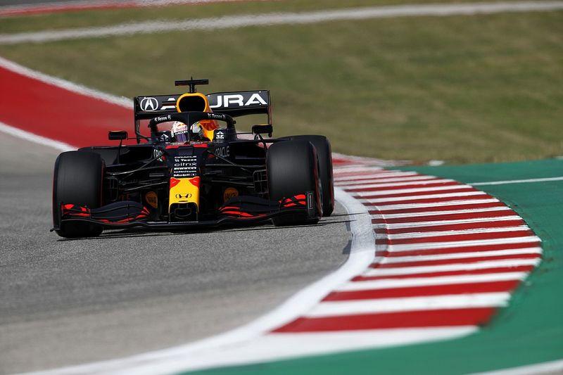 F1アメリカGP予選速報:フェルスタッペンがポールポジション獲得。角田裕毅2戦連続Q3進出も10番手