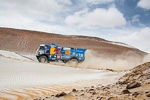 Trucker Karginov uit Dakar Rally gezet na incident met toeschouwer