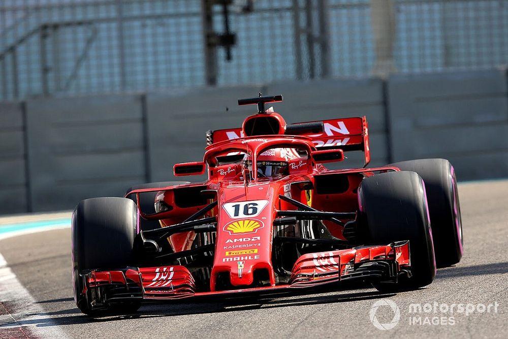 Vettel után Leclerc is pályára gurulhatott a nagyon erős 2018-as Ferrarival