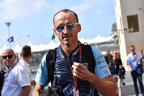 Kubica to start 2019 work in Abu Dhabi GP practice