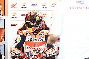 """Angriff auf Rossi-Marke: Marquez nach Sturz über 50. MotoGP-Pole """"happy"""""""