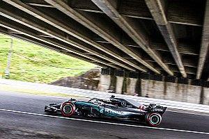 日本大奖赛FP3:汉密尔顿继续领先,维特尔缩小差距