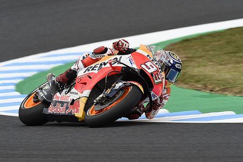 Trainigssturz zwingt Marquez aufs Ersatzbike: Titeljagd von Startplatz sechs