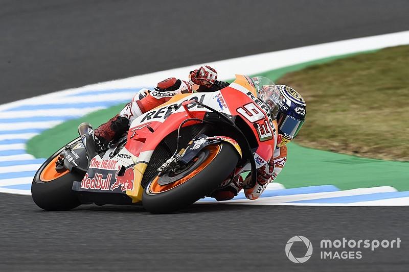 MotoGP, Motegi, Libere 4: Marquez cade, ma precede Crutchlow e Iannone