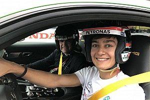 Sampling Suzuka with a future F1 star