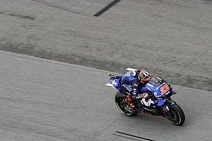 Sepang MotoGP: Vinales heads Rossi in damp warm-up
