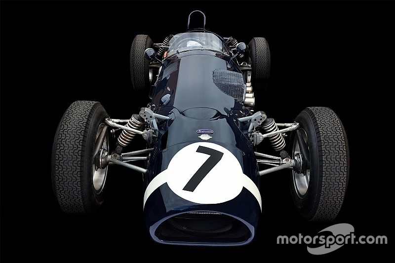 The groundbreaking 4WD Formula 1 car