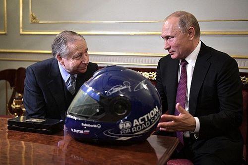 Todt spreekt met Poetin over toekomst Russische autosport