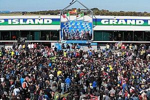 Galería: las mejores imágenes del Gran Premio de Australia de MotoGP