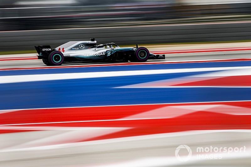 Formel 1 2018 USA: Hamilton mit Pole und halber Miete für WM-Titel