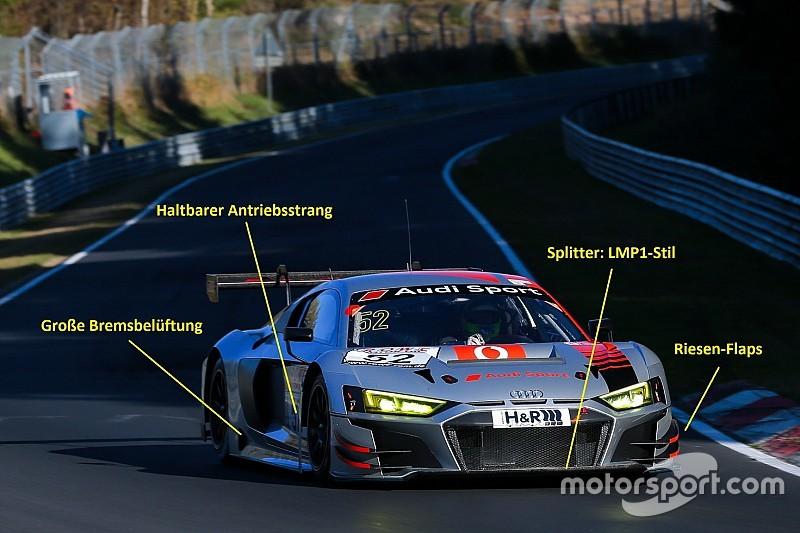 Technik Analyse So Wurde Der Audi R8 Lms 2019 Handzahm