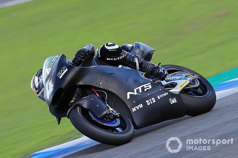 Test Moto2 Jerez, Giorno 3: Odendaal al top sul bagnato, nell'assoluta resta davanti Marini