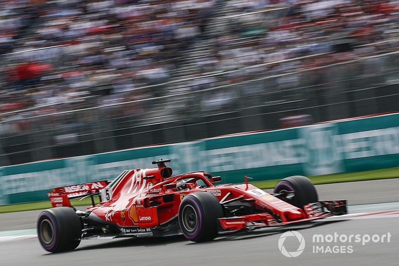 Ferrari never had a dominant car in 2018, says Vettel