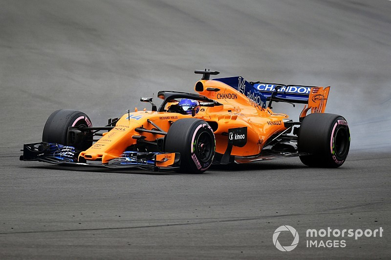 "Alonso ""not too proud"" of Q2 lap in Mexico"