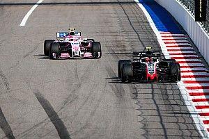 Sergio Pérez admitió que no tenía el ritmo para superar a Magnussen