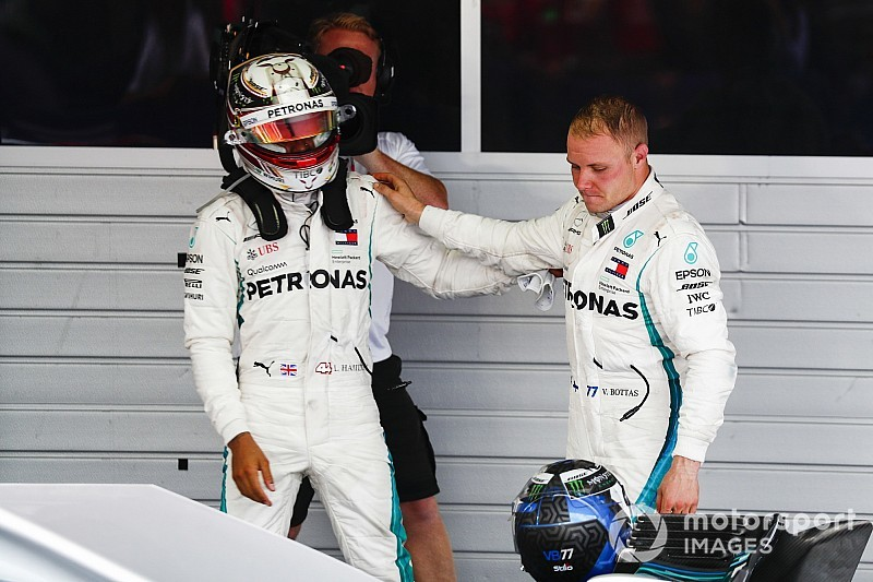 Hamilton: No plans to give win back to Bottas