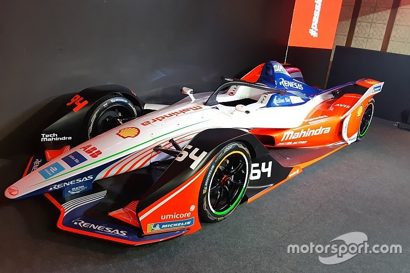 Mahindra showcases new Formula E car for first time in India