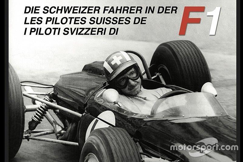 """""""Die Schweizer Fahrer in der F1"""" von Mario Luini und Jean-Marie Wyder in drei Sprachen erzählt."""