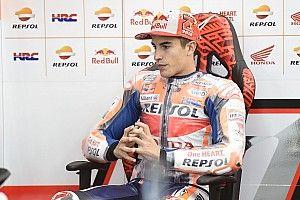 """Márquez : """"Heureusement que c'est la dernière course"""""""