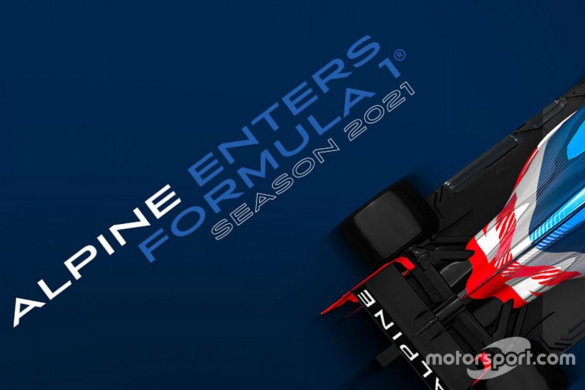 Alpine, 2021 F1 renk düzenini 14 Ocak'ta tanıtabilir!