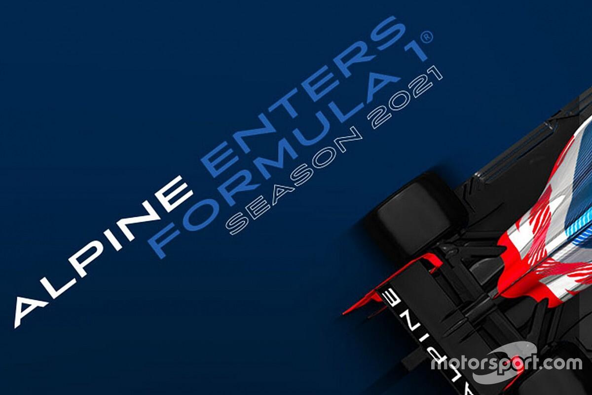 Renault confirma el cambio de nombre del equipo de Alonso para la F1 2021