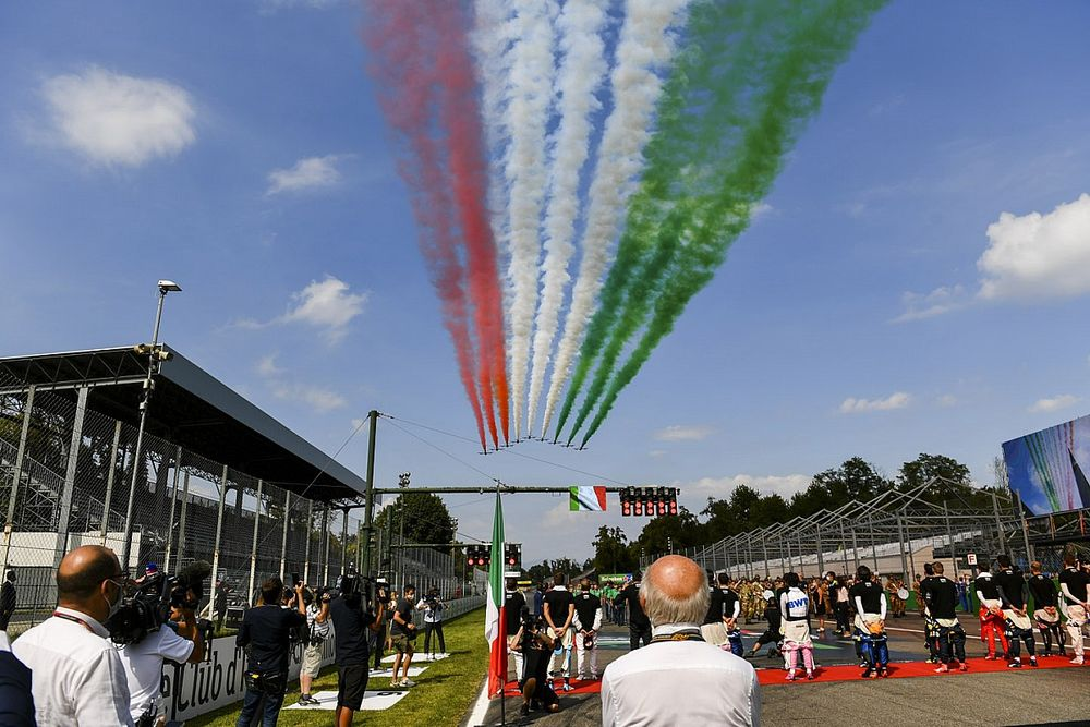 2021 F1 Italian GP and sprint race session timings and how to watch
