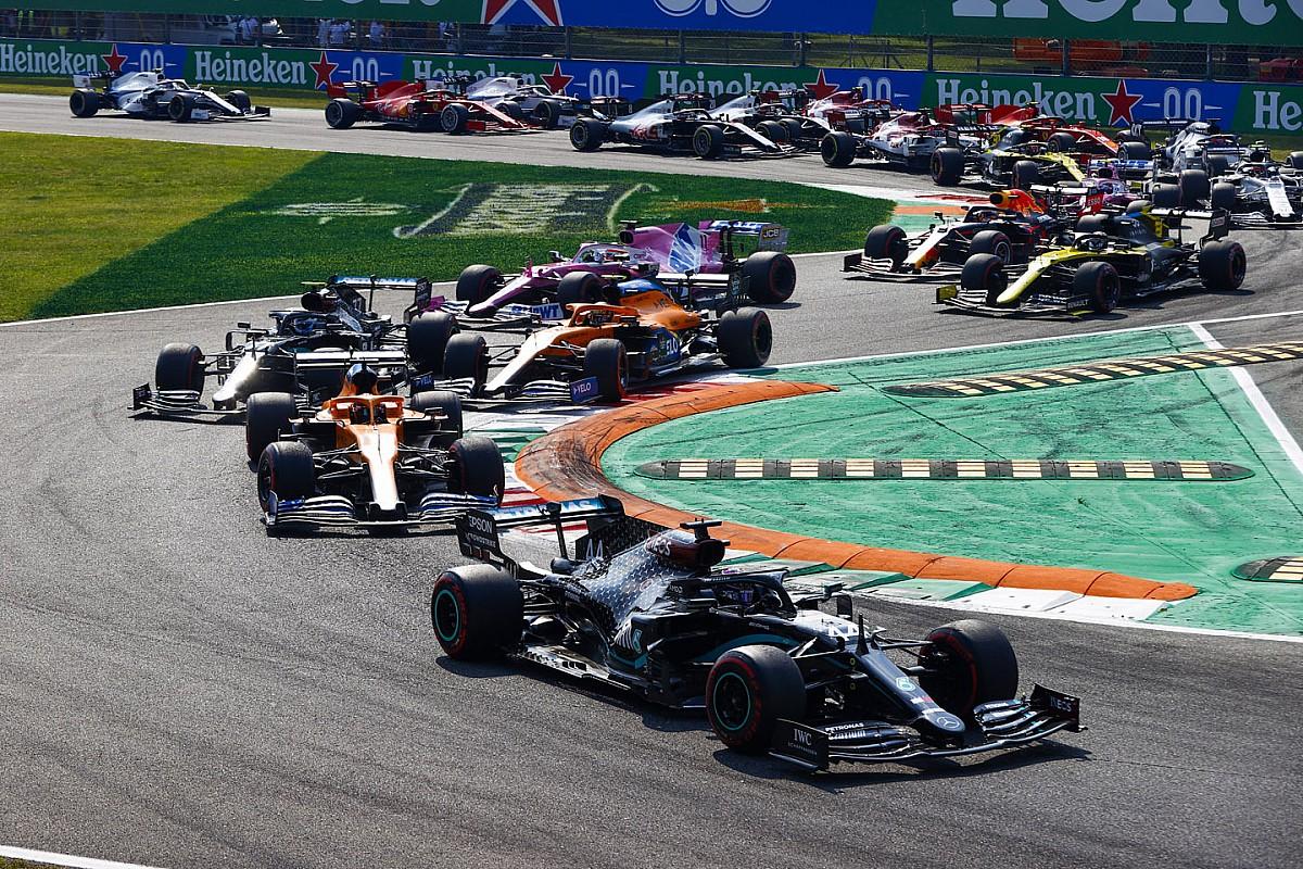 Formel 1 Italien 2020: Die animierte Rundentabelle