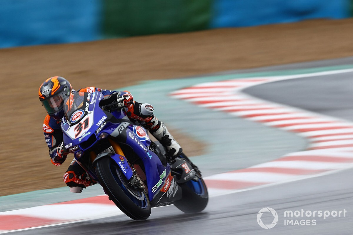 Magny-Cours WSBK: Gerloff outpaces Rea in wet Friday practice