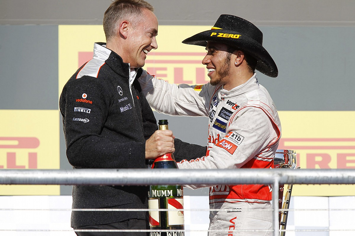 Hamilton hopes Whitmarsh has forgiven him for McLaren exit