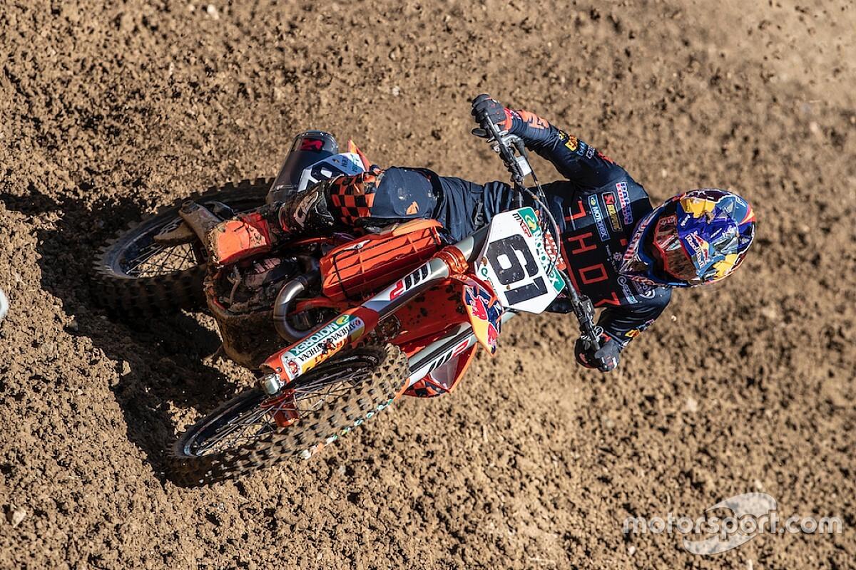 Prado se cuela en el top 5 del Mundial de MXGP con otro podio