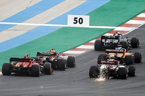 2020 F1 Portuguese GP race results