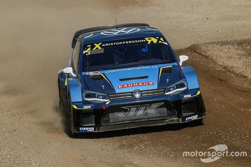 Кристофферссон выиграл второй этап WRX в Барселоне