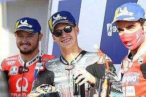 Startopstelling voor de MotoGP Grand Prix van Frankrijk