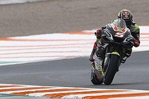 Zarco lidera el FP3 de la reaparición de Rossi en Cheste