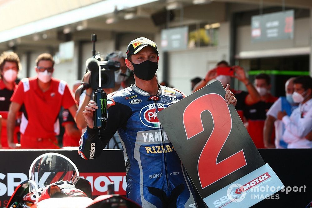 Van der Mark tevreden met podium, prijst Yamaha-talent Gerloff